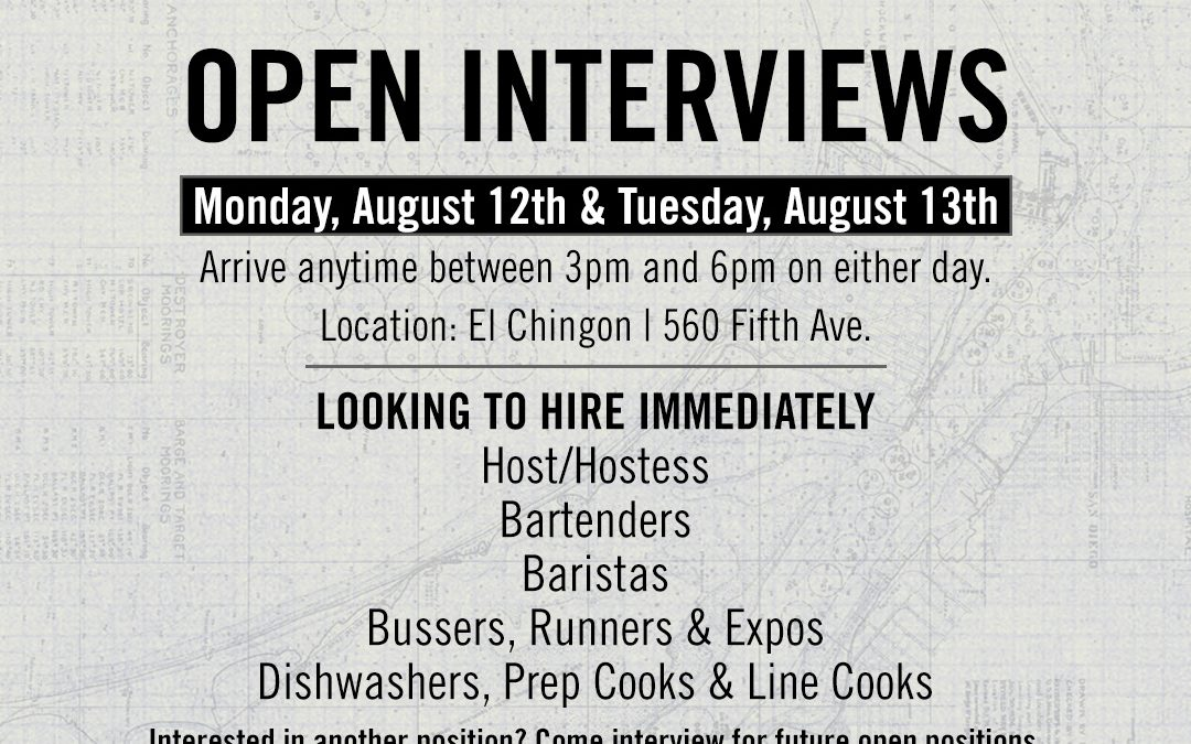 GBOD Hospitality Group Open Interviews