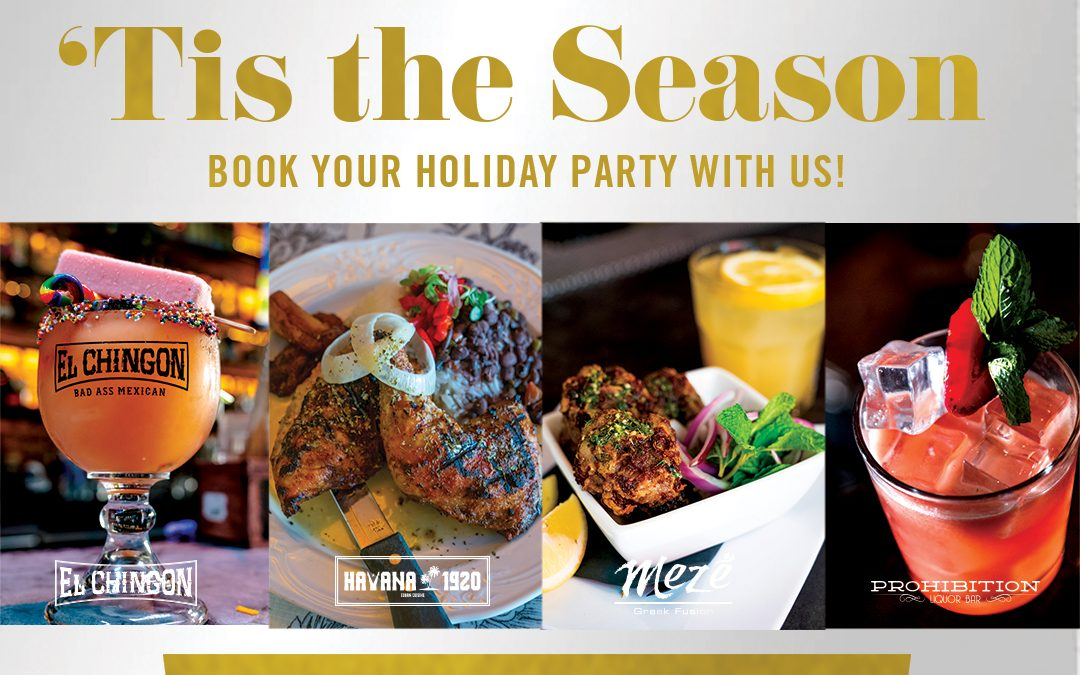 Book Your Holiday Party With GBOD Group